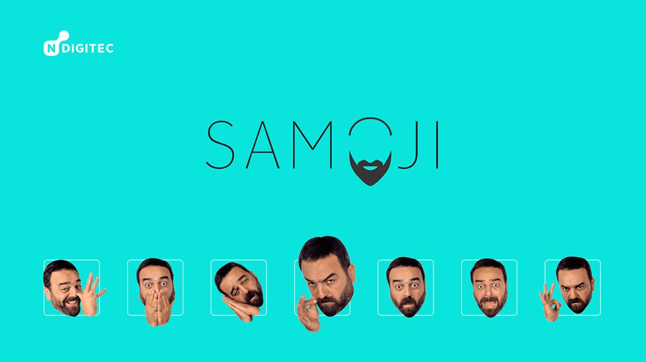 New emojii app - Samoji