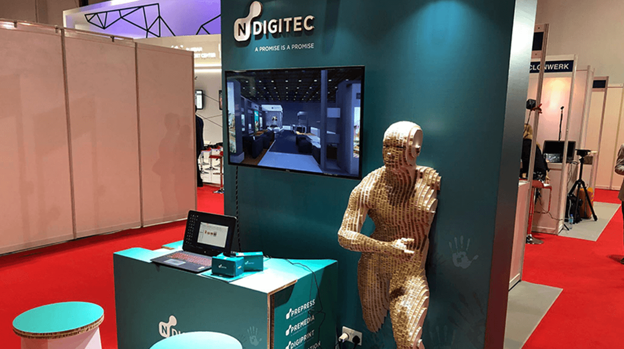 NDigitec: Augmented reality stand at Infocomm 2017