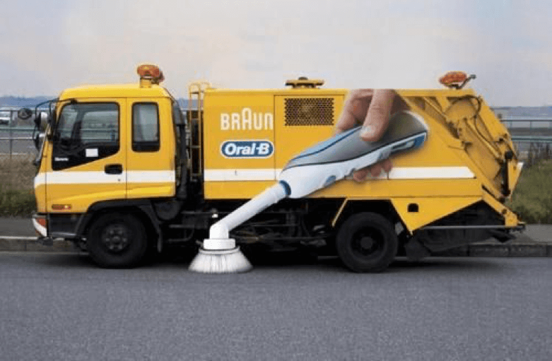 Adhesive For Vehicles: Oral-B